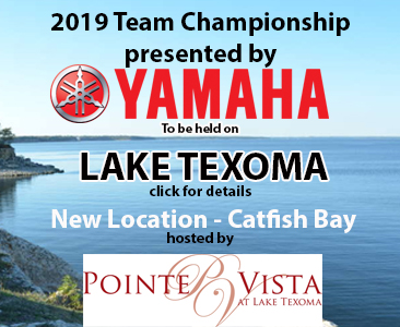 Team Championship heads back to Lake Texoma in a new Location.