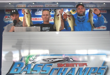 Zach Parker and Heath Moody Win the 2015 Team Championship presented by Yamaha and take home a new Skeeter FX 20 - Yamaha SHO on the Red River, Shreveport.