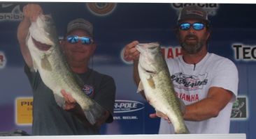 Mike Katzer & Rusty Reedy win over $20,000 on Amistad with 26.24 lbs
