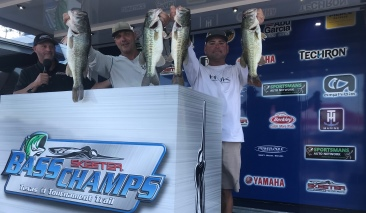 Rick Scheen & Mike Harman win over $20,000 on Amistad with 17.87 lbs. Leonard & Bronder win AOY again.