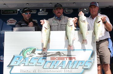 Randy Hibler & Randall Christian win over $20,000 on a windy Lake Belton with 23.48 lbs