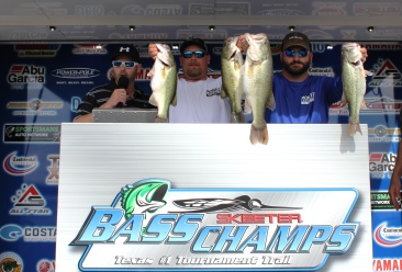 Vince Repola & Darryl Roach top 215 teams & take over $25,000 in Cash & Prizes on Belton.