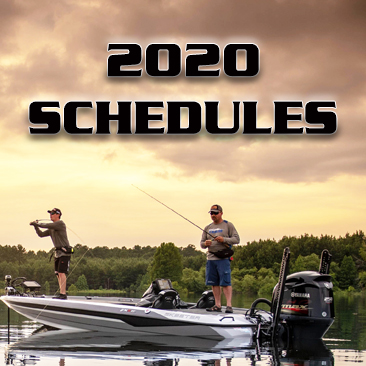 2020 Bass Champs Schedules.  Over $2.5 Million to be paid out!
