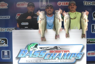 Herron & Cole top 228 teams to win $21,000 with over 30 pounds on Cedar Creek.