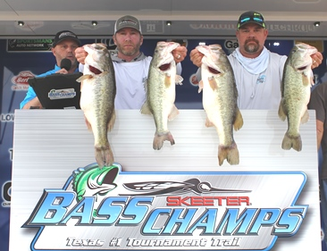 Bret Fisher & Rick Cathey win over $20,000 on Falcon with 34.05 lbs.