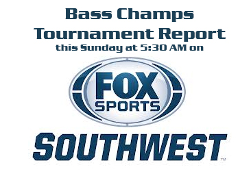 2014 Season is just around the corner. Jan. 11 on Lake Amistad. Get tips & techniques on the new Bass Champs Tournament Report on Fox Sports SouthWest this Sunday @ 5:30 AM.