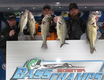 Adam & Rick Clark top 221 teams on LBJ to take home over $25,000 with 26.75 lbs.