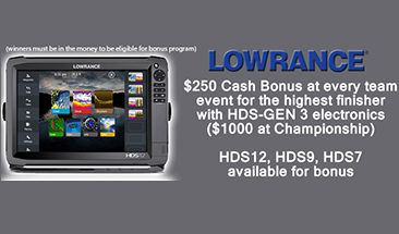 Lowrance is now Official Electronics of Bass Champs - Offers $5000 in bonus cash for 2016 season