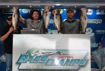 John Iles & Brian Shook top a record field of nearly 400 teams on Rayburn with 30.75 lbs to take home over $20,000.  Record of 53 places paid.