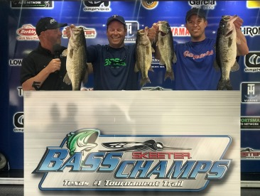 Dave Redington & Chad McClendon top 250 teams on Rayburn to win over $20,000 with 21.99 lbs
