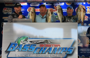 Richard Bacon & Shannon Thibodeaux top 307 teams on Rayburn and take home over $20,000.