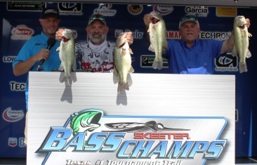 Mark Wylie and Mark Parker take home over $20,000 on Tawakoni with 22.17 lbs.