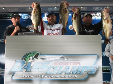 Kris Wilson and Bryan Lohr top 312 teams & take home over $20,000 with 36.11 lbs on Toledo Bend. 23 bags over 20lbs.