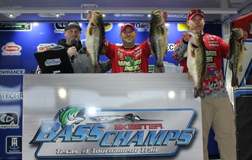 Richards & Brewer top a record field of 319 Teams on Toledo Bend with 33.15 take home over $30,000 in Cash & Prizes.