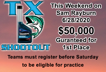 The World's Richest Team Open this weekend on Sam Rayburn. Click for more details