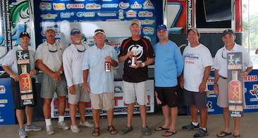Brian Branum and Randy Dearman top 238 teams and take home $50,000 at the 1st Annual TX-Shootout on Rayburn.