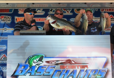 Justin and Josh Priest Win Lake Fork with over 13 lbs.  Take home a new Ford F-150 and Cash!