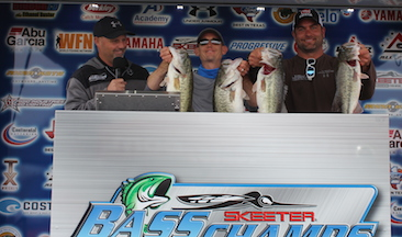 Heath Moody & Zach Parker top a record field of 276 Teams on Ray Roberts to take home over $20,000