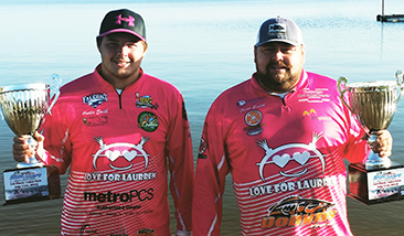 Jason & Hunter Smith top 262 Teams and win over $20,000 with 15.13 lbs.  Darryl Roach and Vince Repola win AOY title.