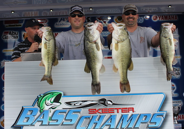 Matt Hill and Barry Mott top 173 team LBJ slugfest with over 27 lbs and take home over $20,000