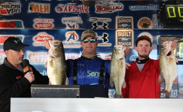 Brian Shook and Danny Iles take home over $25,000 in Cash and Prizes including a Ford F-150 on Rayburn with 23.71 lbs