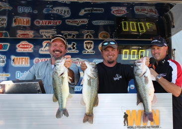 Father/Son Team of Carl and Jason Todd take home over $16,000 with 14.70 lbs on a tough Tawakoni.