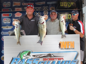 Dale Boren and Jody Holubek take home over $15,000 on a Windy lake Travis with 13.03 lbs.