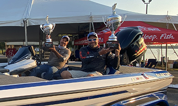Central Region anglers Dean Alexander and Tom Martens hold on to win the 2020 Team Championship presented by Yamaha on the Red River, Shreveport, LA.
